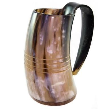 Tankard Drinking Horn Mugs 02