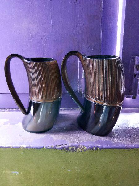 Tankard Drinking Horn Mugs 03