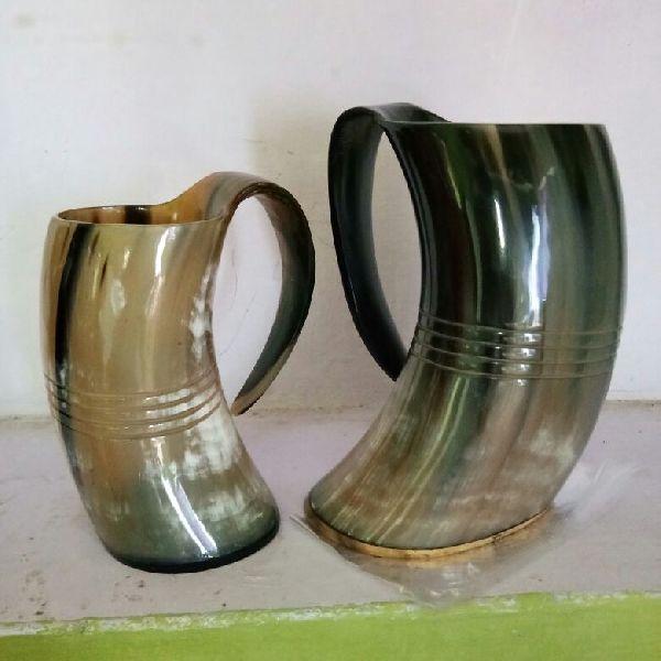 Tankard Drinking Horn Mugs 05