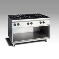 Gas Open Burner w/open cabinet NGTR 12 - 90 DXF GR