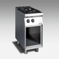 Gas Open Burner w/open cabinet NGTR 4 - 90 DF GR