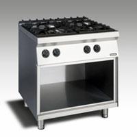 Gas Open Burner w/open cabinet NGTR 8 - 90 DXF GR
