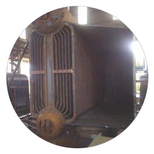 Bi Drum Foot Mounted Boiler
