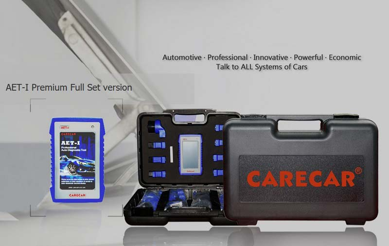 CareCar C68 Premium Multi Car Scanner Full Kit