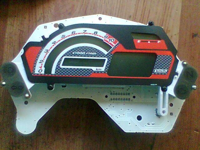 Digital Speedometer Repairing 08