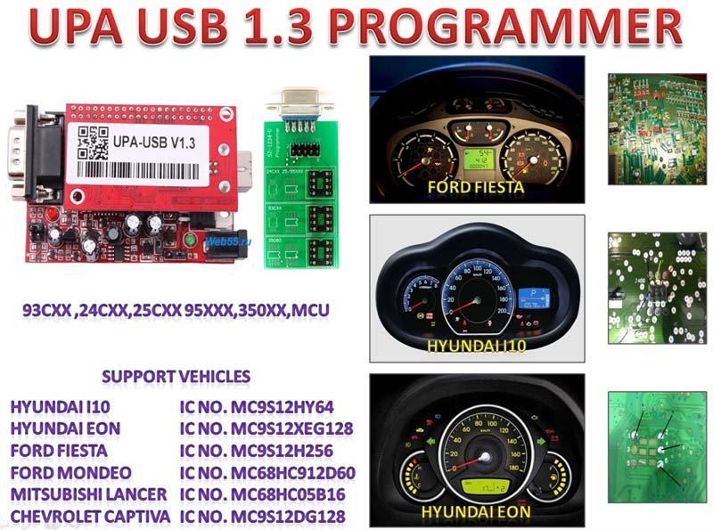 USB Odometer Programmer