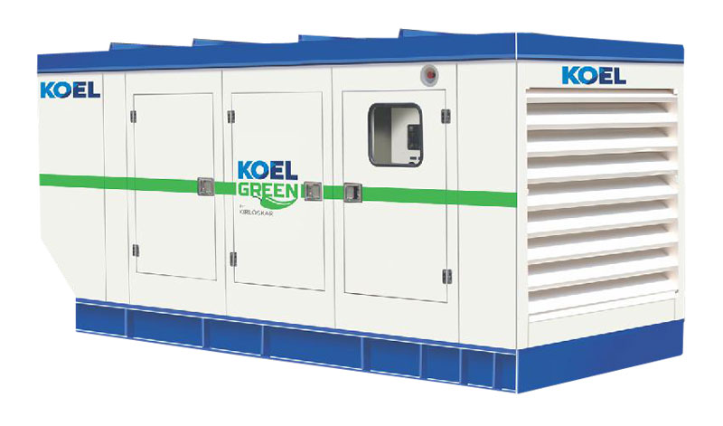 Silent Diesel Generator Set 01