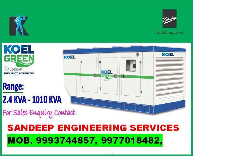 Silent Diesel Generator Set 03