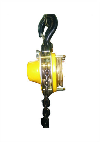 Non Spark chain pulley