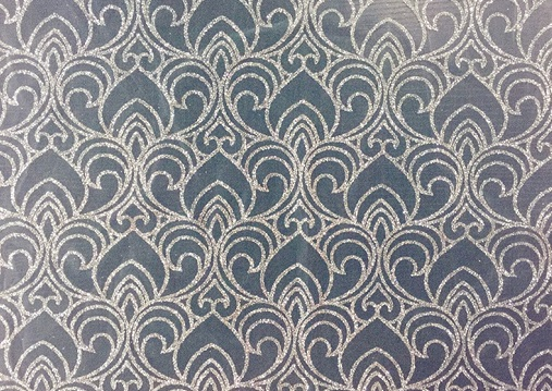 YS1484 Foiled Printed Fabric