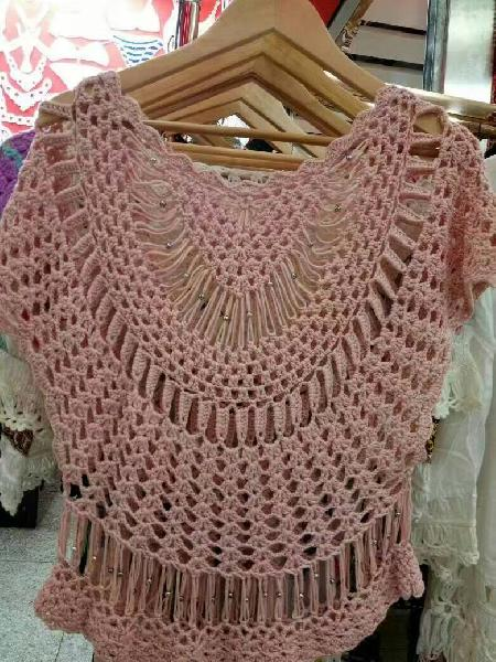 YS70139 Crochet Garment