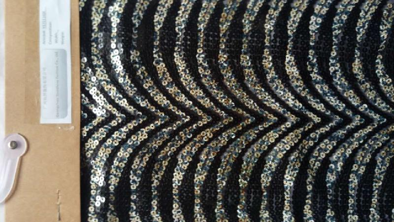 YS7211QX Sequin Fabric