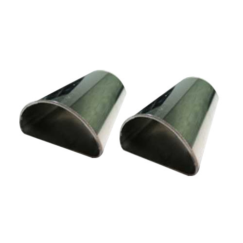 Stainless Steel D Section Pipes