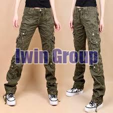 Ladies Cargo Pants