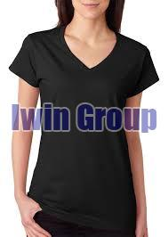 Ladies V Neck T-Shirts