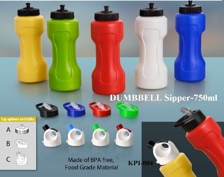 750ml Dumbbell Sipper Bottles