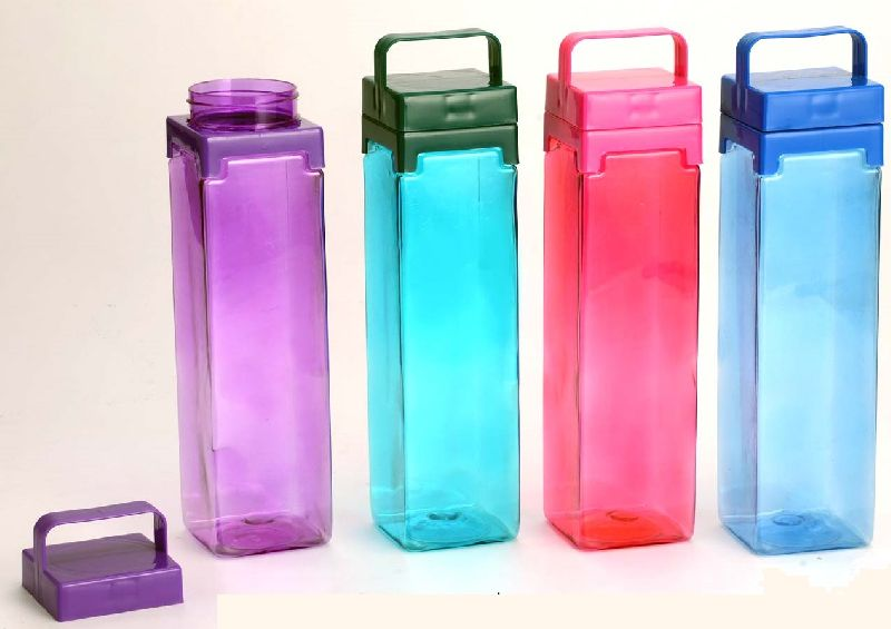 Square Water Bottle With Handle