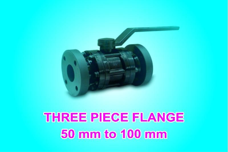 Three Piece Flanged Valve 01