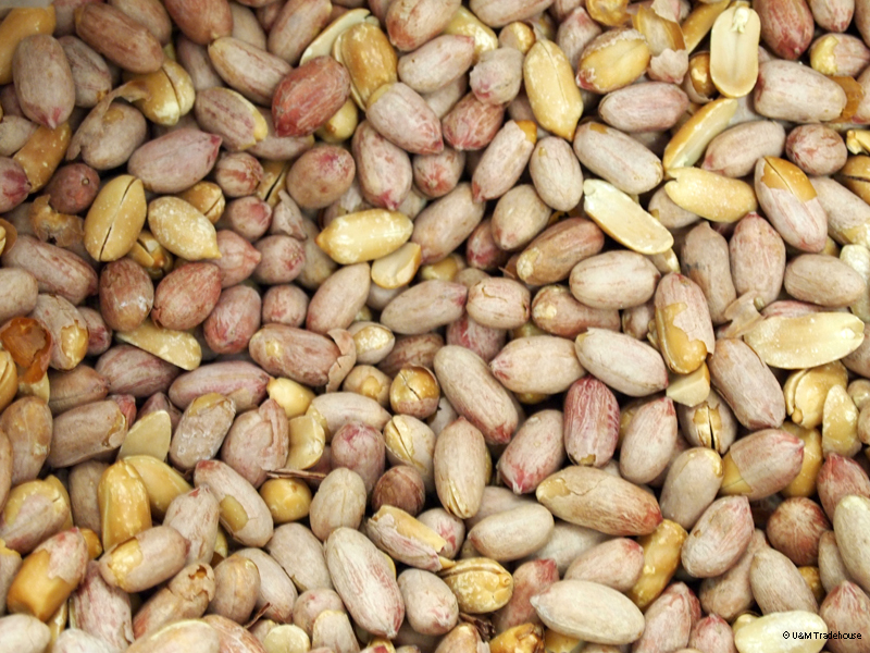 how to make roasted peanuts in hindi