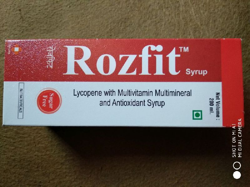 Rozfit Syrup