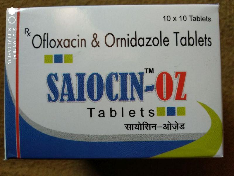 Saiocin-OZ Tablets