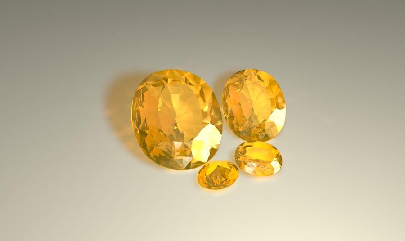 Yellow Sapphire Gemstones