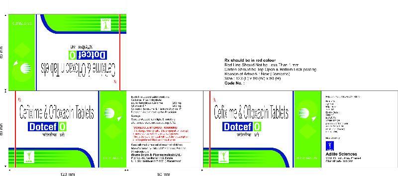 Dotcef O Tablets