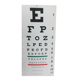 LED Acrylic Ophthalmic Chart 01