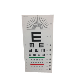 LED Acrylic Ophthalmic Chart 03