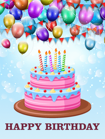 Birthday Card Screen Printing Services