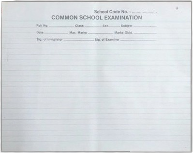 School Answer Sheet Printing Services