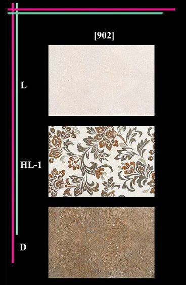 300x450mm Elevation Matt 1 Wall Tiles 02