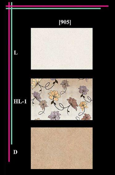 300x450mm Elevation Matt 1 Wall Tiles 05