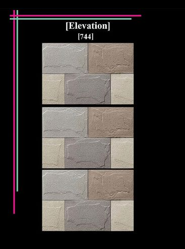 300x450mm Elevation Matt 2 Wall Tiles 04