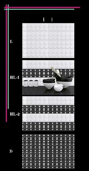 300x450mm Glossy 1 Series Wall Tiles 04