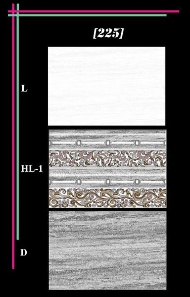 300x450mm Glossy 3 Series Wall Tiles 02