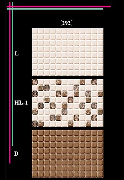 300x450mm Glossy 7 Series Wall Tiles 01