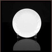 Designer Leaf Round Plate 01