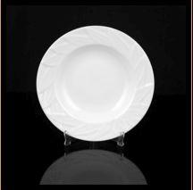 Designer Leaf Round Plate 02