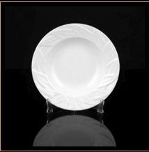Designer Leaf Round Plate 04