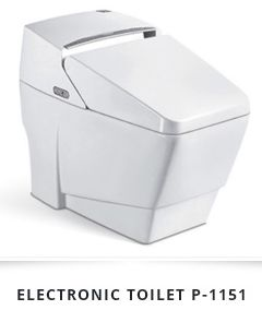 Electronic Ceramic Toilet 01