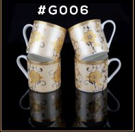 Gold Carpet Gold Line Series Ceramic Mug 05