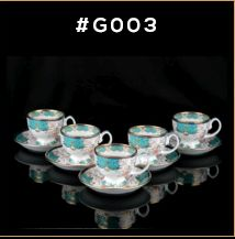 Gold Carpet Gold Line Series Cup & Saucer Set	 02