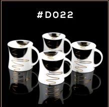 Gold Chain Series Ceramic Mug 02