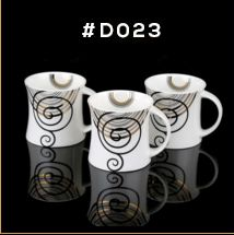 Gold Chain Series Ceramic Mug 03