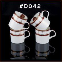 Gold Chain Series Ceramic Mug 05