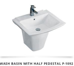 Half Pedestal Wash Basin 03