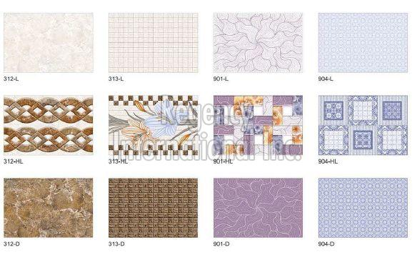 250x375mm Digital Wall Tiles 02