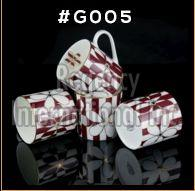 Gold Carpet Gold Line Series Ceramic Mug 04