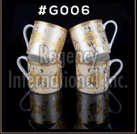 Gold Carpet Gold Line Series Ceramic Mug 05